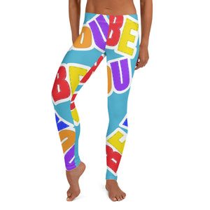 Be You. Original Light Blue Leggings