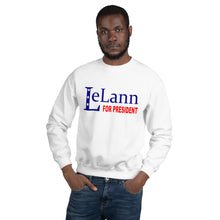 Load image into Gallery viewer, LeLann For President Unisex Sweatshirt