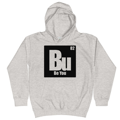 Be You. Bu Black Kids Hoodie