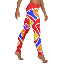 Load image into Gallery viewer, Be You. Original Red Leggings
