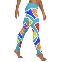 Load image into Gallery viewer, Be You. Original Light Blue Leggings