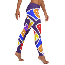 Load image into Gallery viewer, Be You. Original Purple Leggings