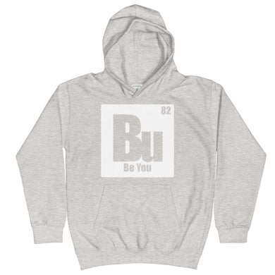 Be You. Bu White Kids Hoodie
