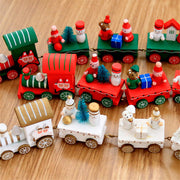Christmas Wooden Toy Train - Nexusbaby