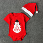 My First Christmas - Baby Boy Romper - Nexusbaby