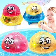 Water Spraying Light-up LED Baby Bath Toy - Nexusbaby