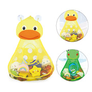Baby Bath Toys Duck Showers Storage Bag Large Mesh Beach Bath Portab Foldable Bag Baby Shower Games Reborn Baby Doll Water Games - Nexusbaby