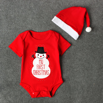 My First Christmas - Baby Boy Romper