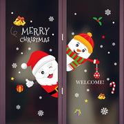 Christmas Wall Stickers Decal Home Decor - Nexusbaby