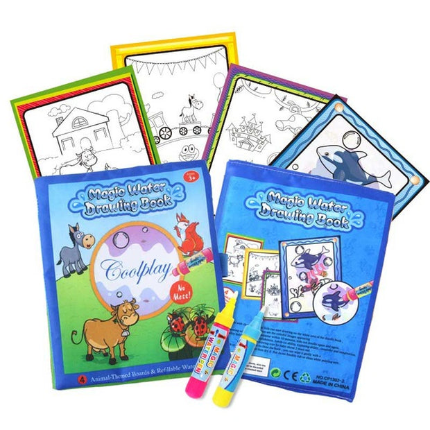 Reusable Baby Coloring Book Learning Educational Toy - Nexusbaby