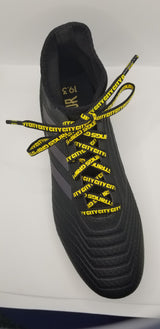 "47"" Ellicott City Soccer Club GripStrings Black and Yellow"