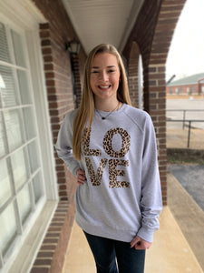 L.O.V.E. Block Letter Sweater