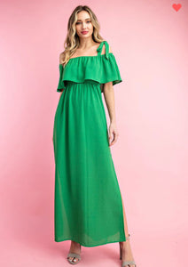 Apple Green Maxi Dress