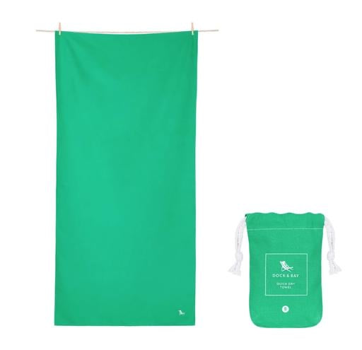 Dock & Bay Quick Dry Towel - Classic Everglade Green