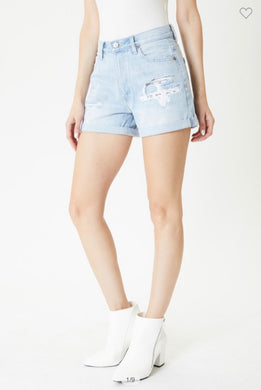 Kancan Mom Shorts - High Rise