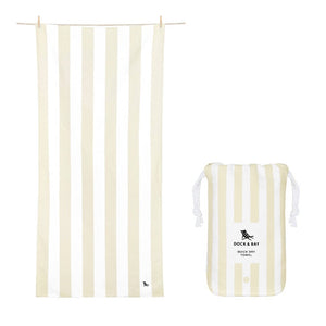 Dock & Bay Quick Dry Towel - BORA BORA BEIGE