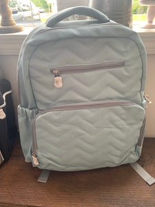 Teal SoHo Diaper Bag