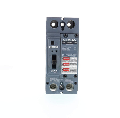 QRH22B200 - Siemens 200 Amp 2 Pole 240 Volt Bolt-On Molded Case Circuit Breaker