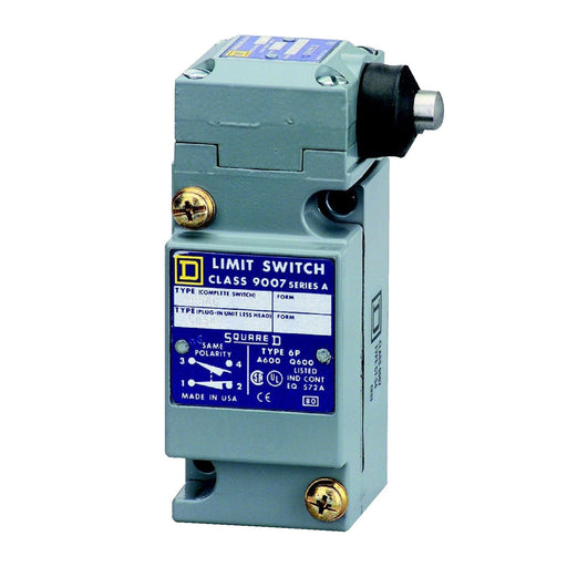 9007C54G - Square D 10 Amp 600 Volt Electric Limit Switch