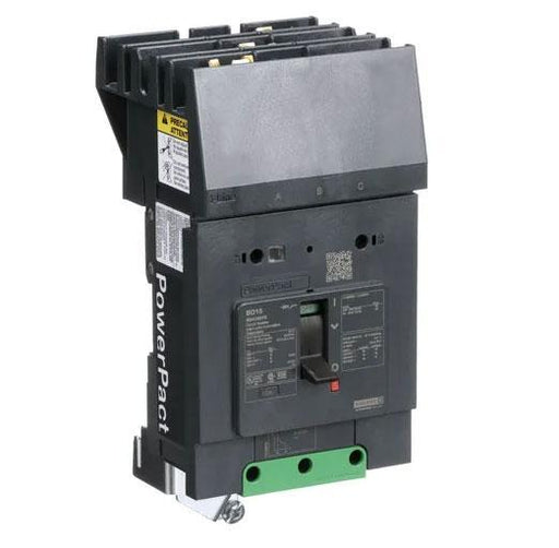 BDA36015 - Square D 15 Amp 3 Pole 600 Volt Plug-In Molded Case Circuit Breaker