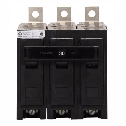 BAB3030H - Eaton Cutler-Hammer 30 Amp 3 Pole Bolt-On Circuit Breaker