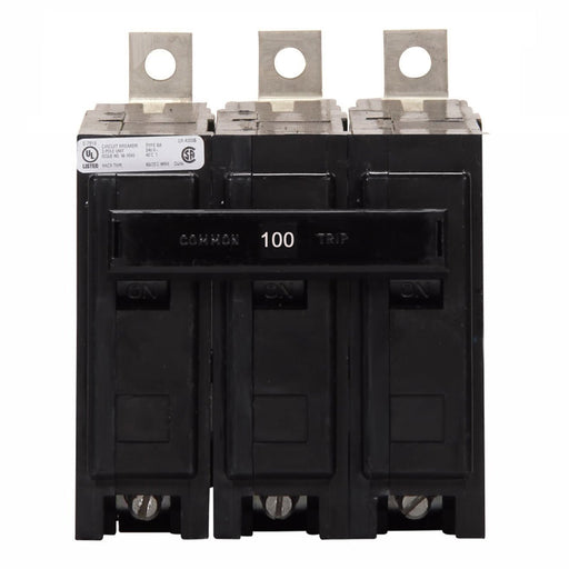 BAB3100H - Eaton Cutler-Hammer 100 Amp 3 Pole Bolt-On Circuit Breaker