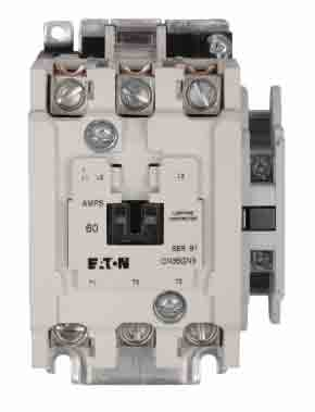 CN35GN3AB - Eaton Cutler-Hammer 60 Amp 3 Pole 600 Volt Lighting Contactor