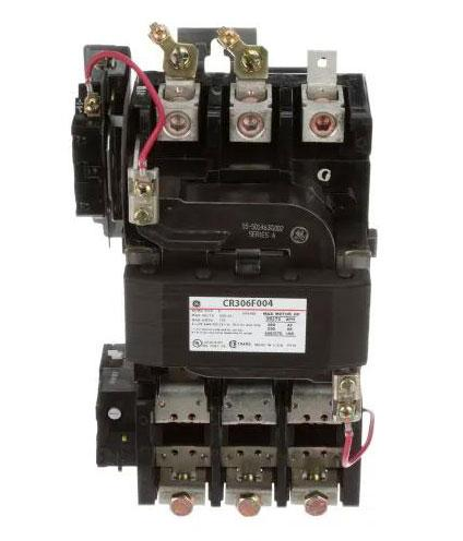 CR306F004 - General Electric 135 Amp 3 Pole 600 Volt Non-Reversing Starter