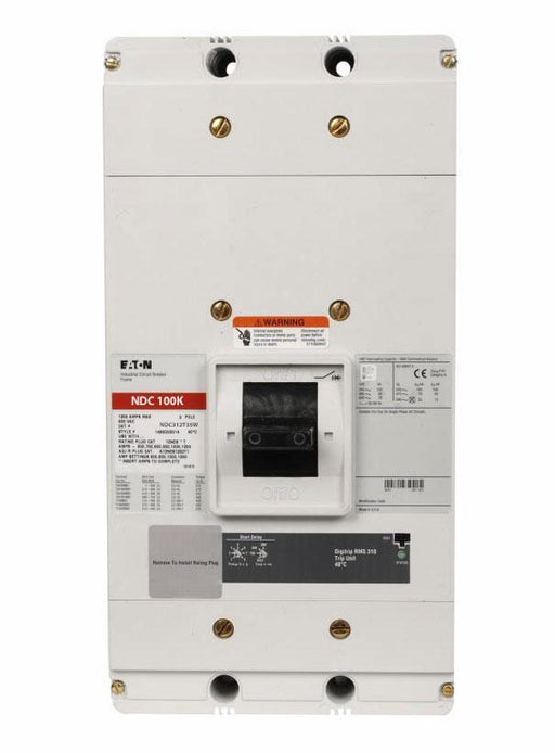 NDC312T35W - Eaton Cutler Hammer 1200 Amp 3 Pole 600 Volt Bolt-On Molded Case Circuit Breaker