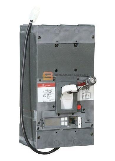 SKPP3608L4XX - General Electric 800 Amp 3 Pole 600 Volt Bolt-On Molded Case Circuit Breaker