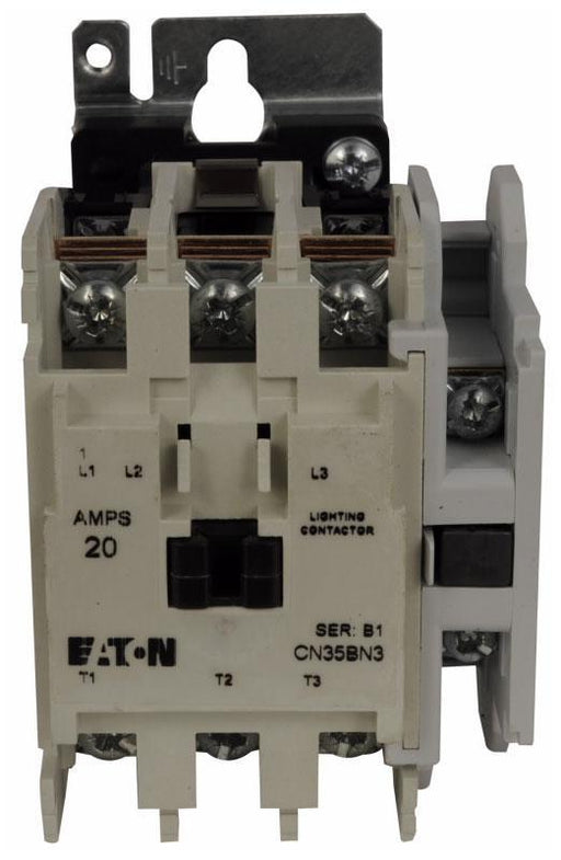 CN35BN3AB - Eaton Cutler-Hammer 20 Amp 3 Pole Lighting Contactor