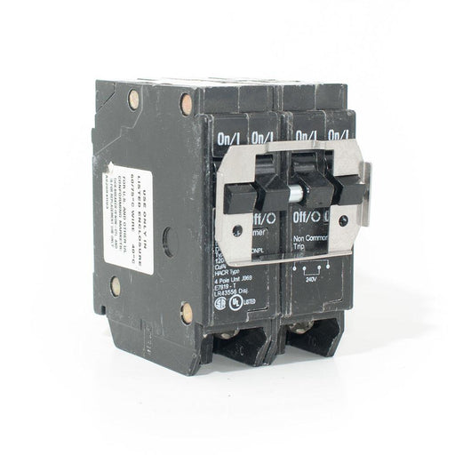 BR215220 - Cutler-Hammer Quad  15 Amp Double Pole & 20 Amp Double Pole Circuit Breaker