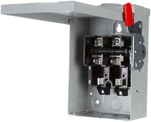 GF221NR - Siemens 30 Amp 2 Pole 240 Volt Disconnect Safety Switches