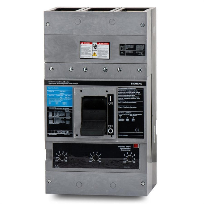 HPD63F160 - Siemens 1600 Amp 3 Pole 600 Volt Bolt-On Molded Case Circuit Breaker
