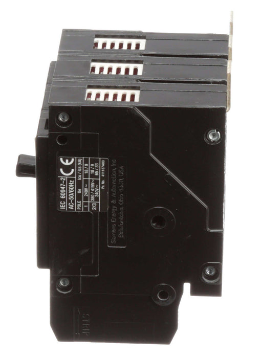 BQD320 - Siemens 20 Amp 3 Pole 480 Volt Bolt-On Molded Case Circuit Breaker