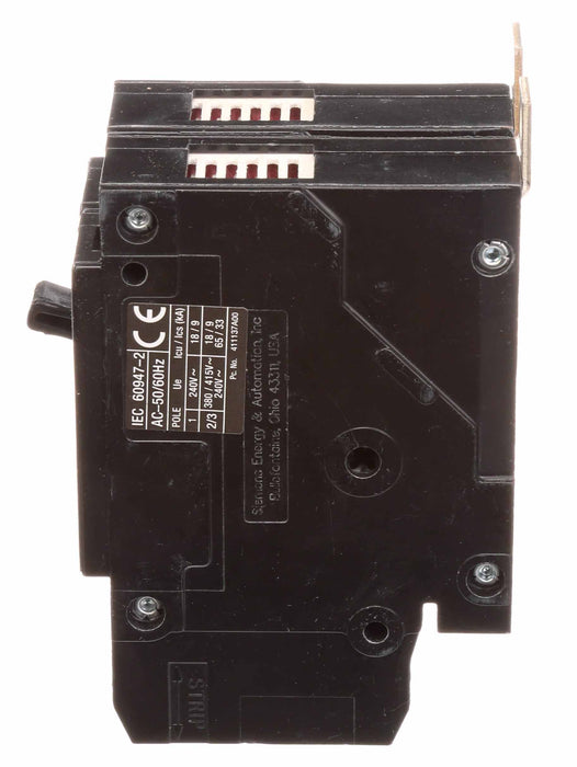 BQD6250 - Siemens 50 Amp 2 Pole 600 Volt Bolt-On Molded Case Circuit Breaker