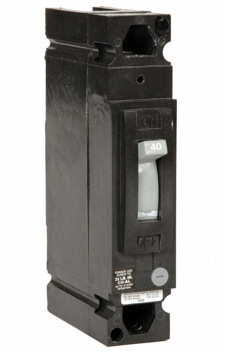 TED113040WL - GE 40 Amp 1 Pole 277 Volt Molded Case Circuit Breaker General Electric Lug