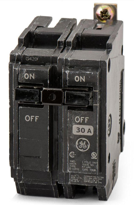 THQB1130ST1 - GE 30 Amp 1 Pole Bolt-On Shunt Trip Circuit Breaker