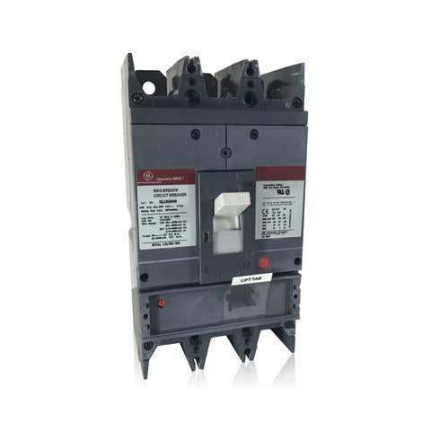 SGLA36AI0400 - GE 400 amp 3 pole 600 Volt Bolt-On Molded Case Circuit Breaker