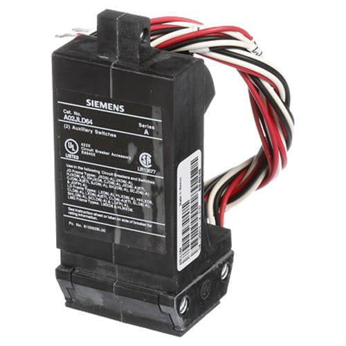 A02JLD64 - Siemens 480 Volt Molded Case Circuit Breaker Auxiliary Switch