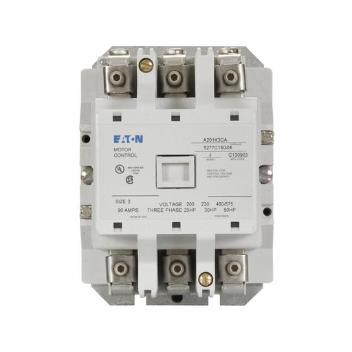 A201K3CA - Eaton Cutler-Hammer 90 Amp 3 Pole 600 Volt Non-Reversing Magnetic Contactor