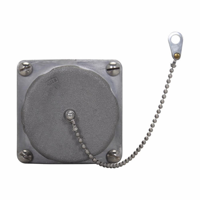 AR1048 - Crouse-Hinds 100 Amp 4 Pole 600 Volt Circuit Breaking Threaded Cap