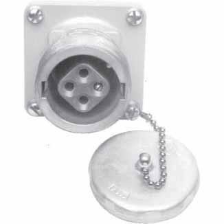 AR348 - Crouse-Hinds 30 Amp 4 Pole 600 Volt Circuit Breaking Threaded Cap