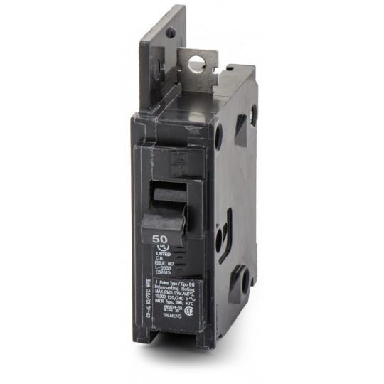 BQ1B050H - Siemens 50 Amp 1 Pole 120 Volt Bolt-On Molded Case Circuit Breaker