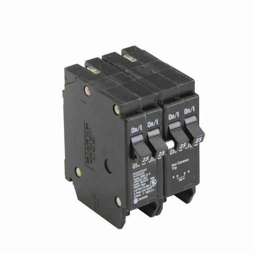 BQ225225 - Eaton Cutler-Hammer 25 Amp 2 Pole 240 Volt Plug-On Molded Case Circuit Breaker