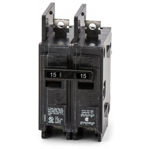 BQ2B015H - Siemens 15 Amp 2 Pole 240 Volt Bolt-On Molded Case Circuit Breaker