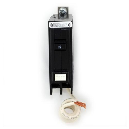 BQGF15 - Eaton Cutler-Hammer 15 Amp 1 Pole 120 Volt Bolt-On Ground Fault Circuit Breakers