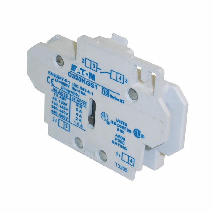 C320KGS1 - Eaton Cutler-Hammer 10 Amp Auxiliary Contact Block