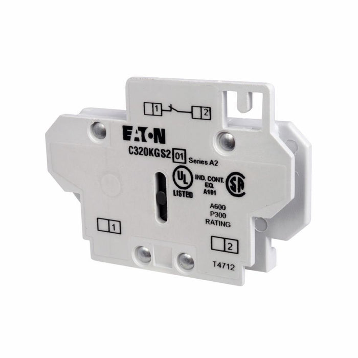 C320KGS2 - Eaton Cutler-Hammer 10 Amp 600 Volt Auxiliary Contact Block