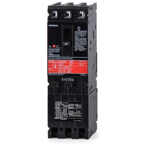CED63B020 - Siemens 20 Amp 3 Pole 600 Volt Bolt-On Molded Case Circuit Breaker
